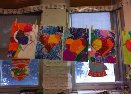 Pastel Heart Art